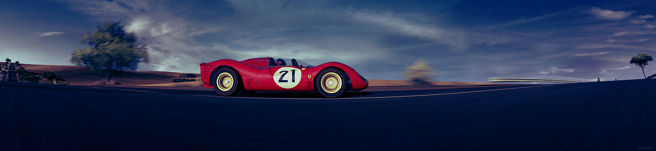 Stitch of a Ferrari 330 P4 from GT5