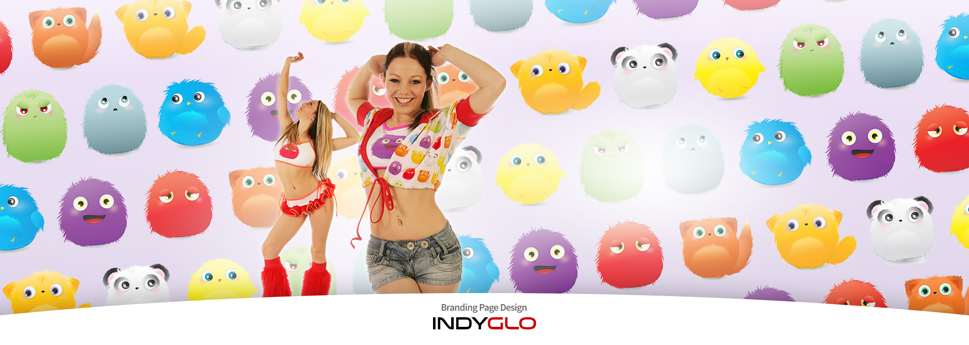 Indyglo Brand Page Backdrop - Plurries