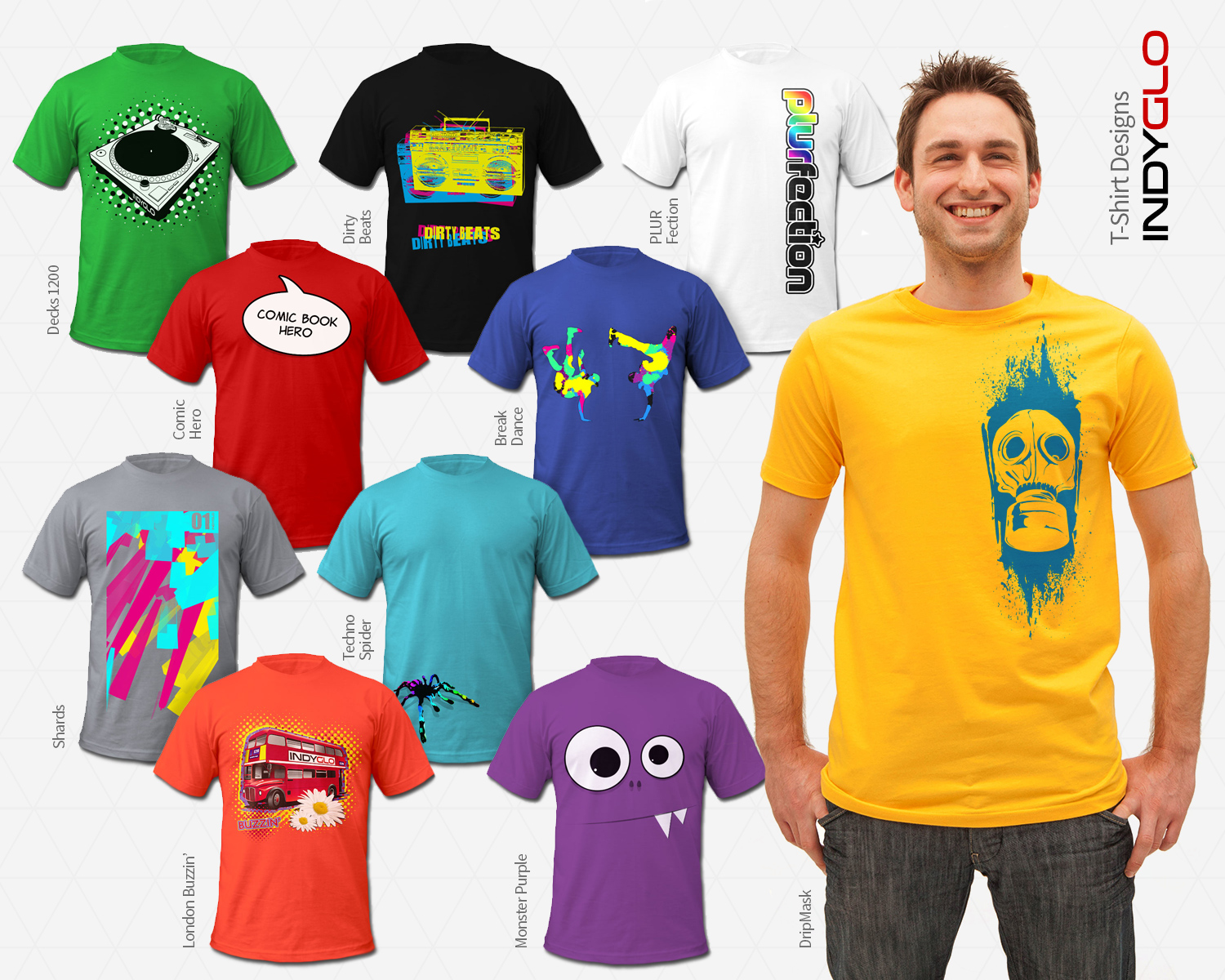 Mens T-Shirt Designs