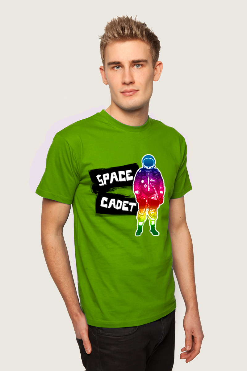 T-Shirt Design - Space Cacdet