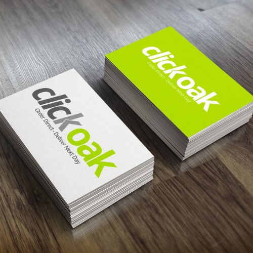Click Oak - Business Card Idea