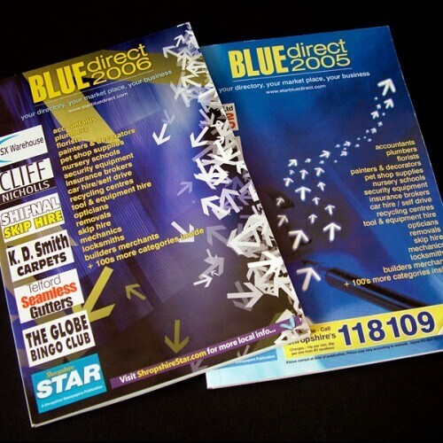 Shropshire Star Blue Direct Books