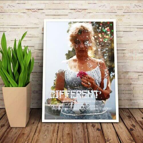 Marilyn Monroe Different Poster