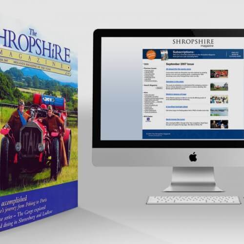 Shropshire Magazine Website Design